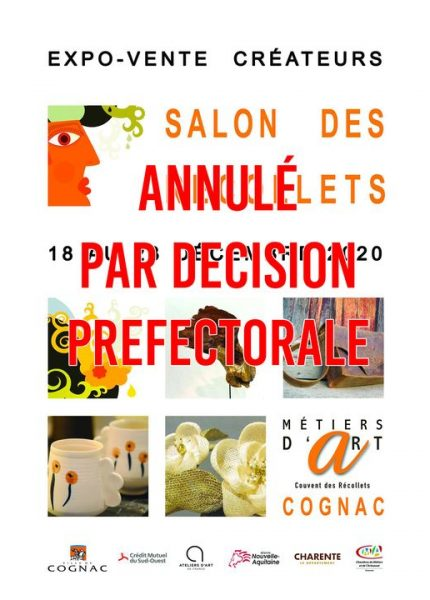 affiche Cognac Annulé